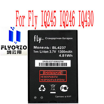 High Quality 1300mAh BL4237 Battery For Fly IQ245 IQ246 IQ430 Mobile Phone image