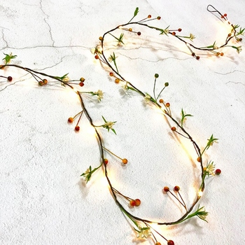 LED Christmas String Light Berry Fairy Light Holiday Wedding Room Decoration Decorative Light String