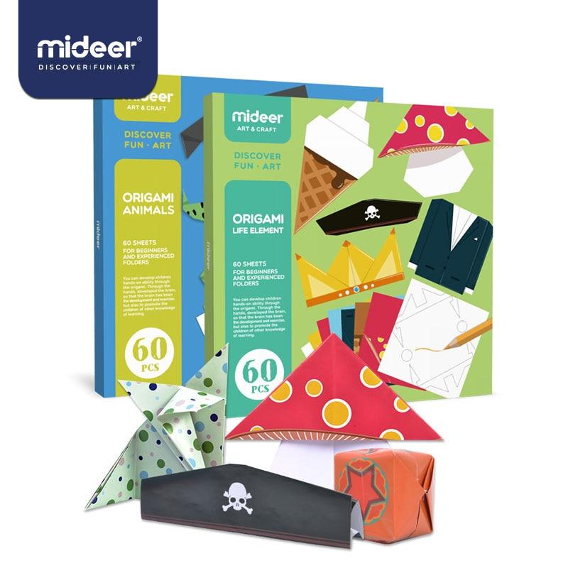 MiDeer Toys For Children Children Creative Handmade Origami Hand-made DIY Set Kindergarten Handmade Origami Toys For Children>3Y