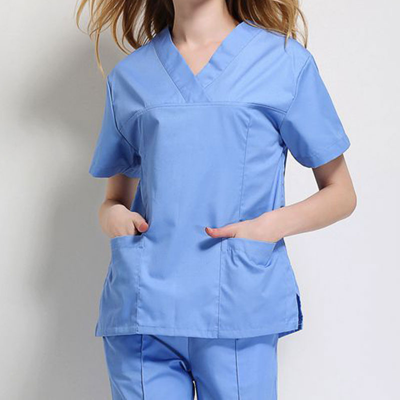 Work Uniforms Short-sleeved Medical Suits Nursing Shirt Dental Clinic Tops/Suits Summer Doctor Costume Women Clothes
