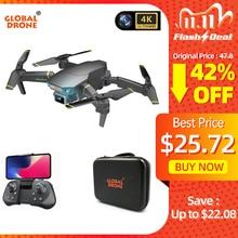 Dron Global 4K EXA con cámara HD, vídeo en vivo, helicóptero RC Pro FPV, cuadricóptero VS Drone E58 E520
