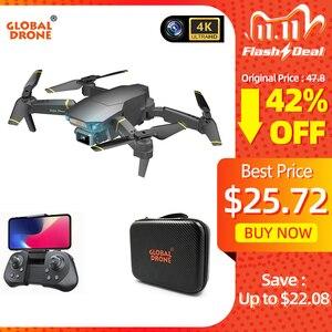 Image 1 - Dron Global 4K EXA con cámara HD, vídeo en vivo, helicóptero RC Pro FPV, cuadricóptero VS Drone E58 E520