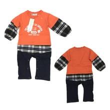 Распродажа, комбинезоны для новорожденных мальчиков и девочек, одежда на лето и весну, комбинезон, одежда, твердые наряды, от 0 до 24 месяцев