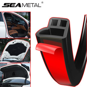 Car Door Protector Rubber Sealing Strip Auto Seals Strips Noise Insulation Soundproof Sealant For Hood Trunk Edge Weatherstrip