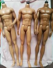Original men doll preto marrom corpo brinquedo articulações móveis boneca brinquedo princesa boneca corpo boneca acessórios príncipe ken corpo boneca brinquedo diy