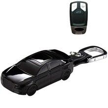 Car Model Shape Car Remote Key Cover Case Shell  For Audi A4 Allroad B9 Q5 Q7 TT TTS 4M 8S 2016 2017 2018 Accessories