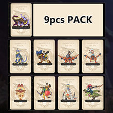 9PCS. for M0nster Hunter Rise NFC Amiib0 Card. Include: Palamute, Palico, Magnamalo. Compatible Sw1tch, Sw1tch Lite. 9 pcs