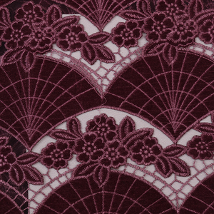 Image 5 - Wholesale Velvet Lace Fabrics New Arrival Fashion African Lace Fabric for Wedding Party High Quality Nigerian Mesh Lace APW2800B