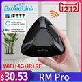 Broadlink RMPro + WiFi + IR + RF управление для Alexa Google Home IFTTT умный дом 315/433 МГц приложение дистанционное управление AU/UK/EU/US СТАНДАРТ