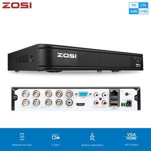 Zosi 720P 1080N Cvbs Ahd Cvi Tvi 4-In-1 Cctv Dvr Beveiliging Dvr H.265 Digitale Video recorder Hdmi Video-uitgang Ondersteuning Telefoon RS485