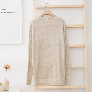 Image 2 - Metersbonwe New Brand Linen Sweater Men  Autumn Fashion Long Sleeve Knitted Men Cotton Sweater High Quality Clothes