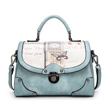 JUILE Fashion Women handbag Female Shoulder Bag Cartoon Printing handbags Womens Messenger Famous Designers Luxury Handbags