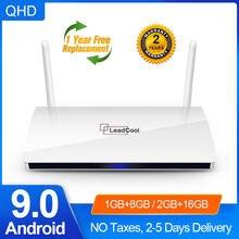 Leadcool ТВ приставка android 90 amlogic s905w четырехъядерный