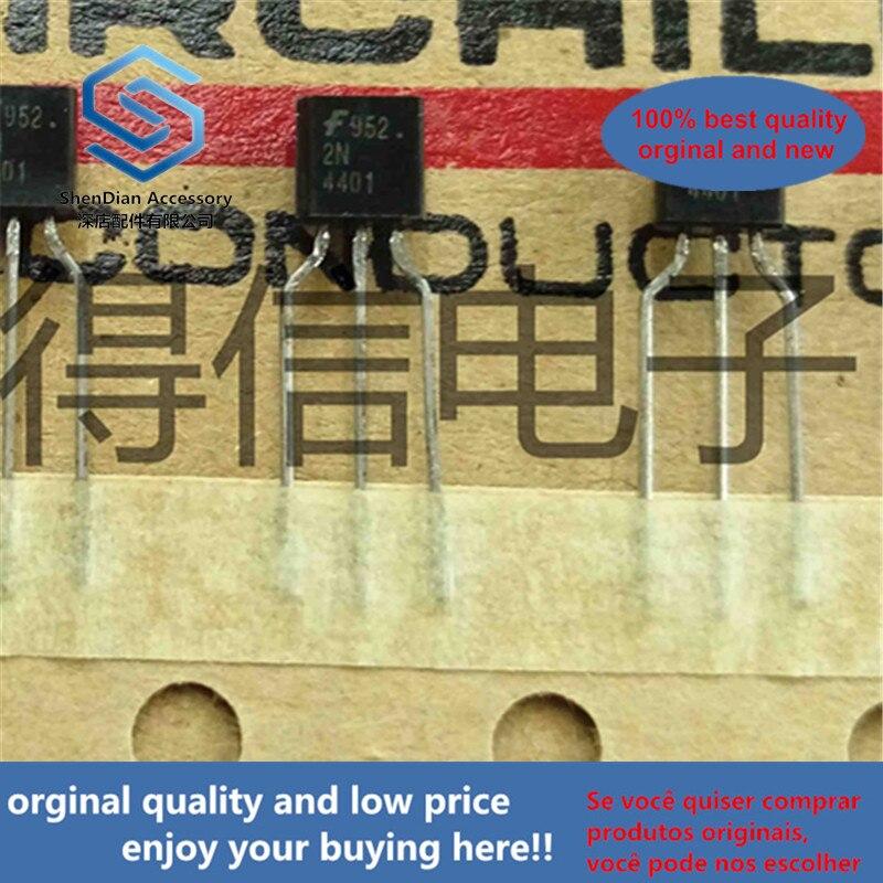 50pcs 100% Orginal New KA4401 2N4401 4401 To-92 SILICON NPN TRANSISTORS Real Photo