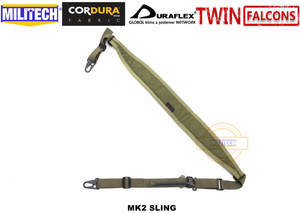 Gun-Strap Cordura Rifle TWINFALCONS Slingster Hunting MILITECH Two-2-Points Weapon-Sling