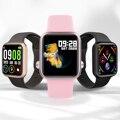 Смарт-часы P90 38 мм  полностью сенсорный фитнес-трекер IP68  водонепроницаемые  с беспроводной зарядкой  спортивные Смарт-часы PK  Apple Watch P68 P70 Pro