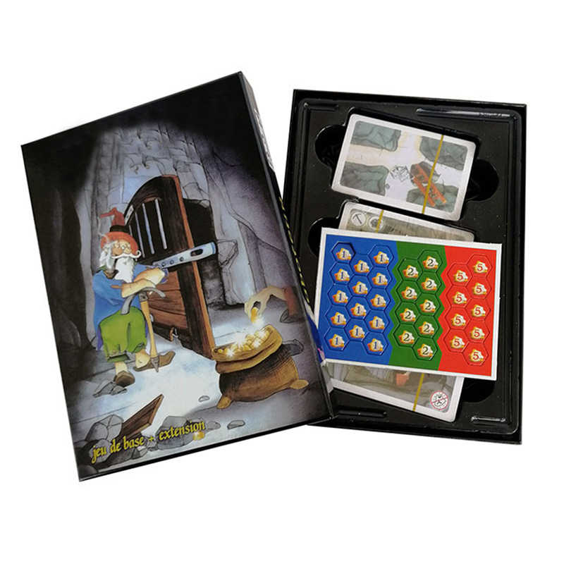"""Saboteur ""Board Game 1+2 Version/Saboteur1 Version Jeu De Family Board Game Funny Board Game With English Instructions"