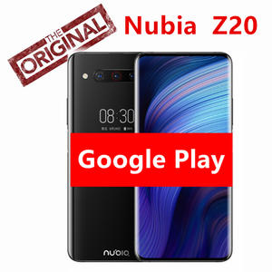 Global Version Optional Nubia Z20 Dual Screen Mobile Phone 6.42+5.1 Snapdragon 855 plus Octa core 4000mAh Triple Rear 48MP