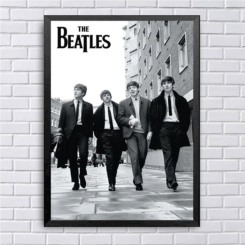 On Canvas Poster Music-Band-Picture Beatle Wall-Art Superstar Classical Printing Home-Decoration