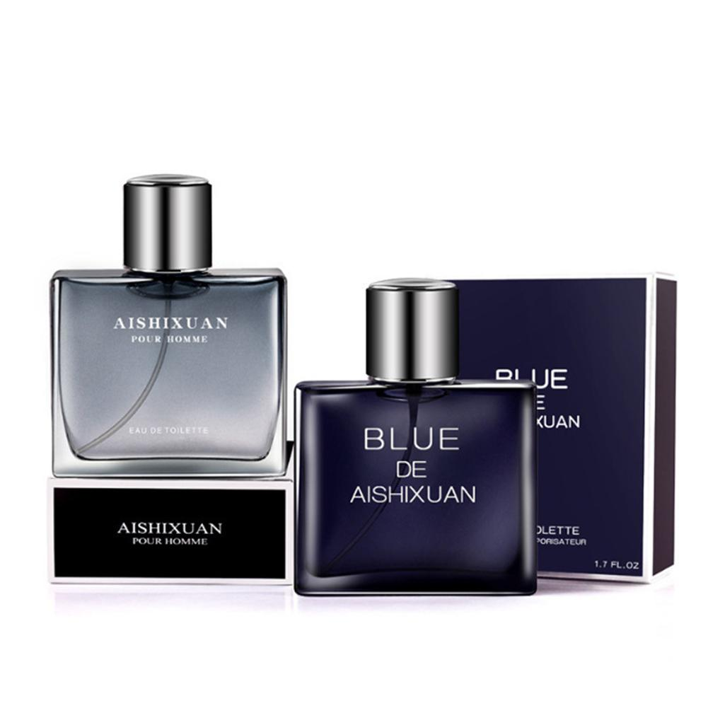 VIBRANT GLAMOUR 50ml Elegant Ocean Perfumes For Men Long-lasting Charming Fragrance Fresh Body Spray Parfum