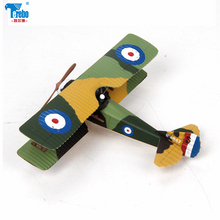 Terebo 1:72 Spald battle aircraft model alloy fighter simulation military ornaments SPAD-XIII collection gift