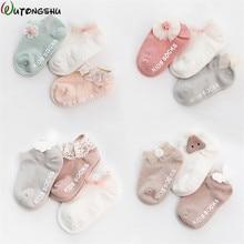 3Pairs/ lot Newborn Baby Girls Socks Summer Spring Mesh Socks Kids Bow Socks Princess Infant Baby Socks Baby Boy Foot Sockes bow decorated net socks 3pairs
