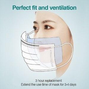 Image 2 - 100~500pcs Disposable Mask Filter Pad Facial haze Masks Universal Protective Dustproof Replaceable Pad Suitable For All Masks