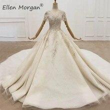 Đầm Phối Ren Bi Đồ Bầu Áo Váy Nữ Thanh Lịch Đính Hạt Tinh Thể Vestidos De Noiva Boho Cô Dâu Đồ Bầu 2020