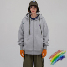 Oversize Badge Ader Error Pullover Men Women 1:1 High Quality Double-sided Zipper Loose Adererror Hoodie