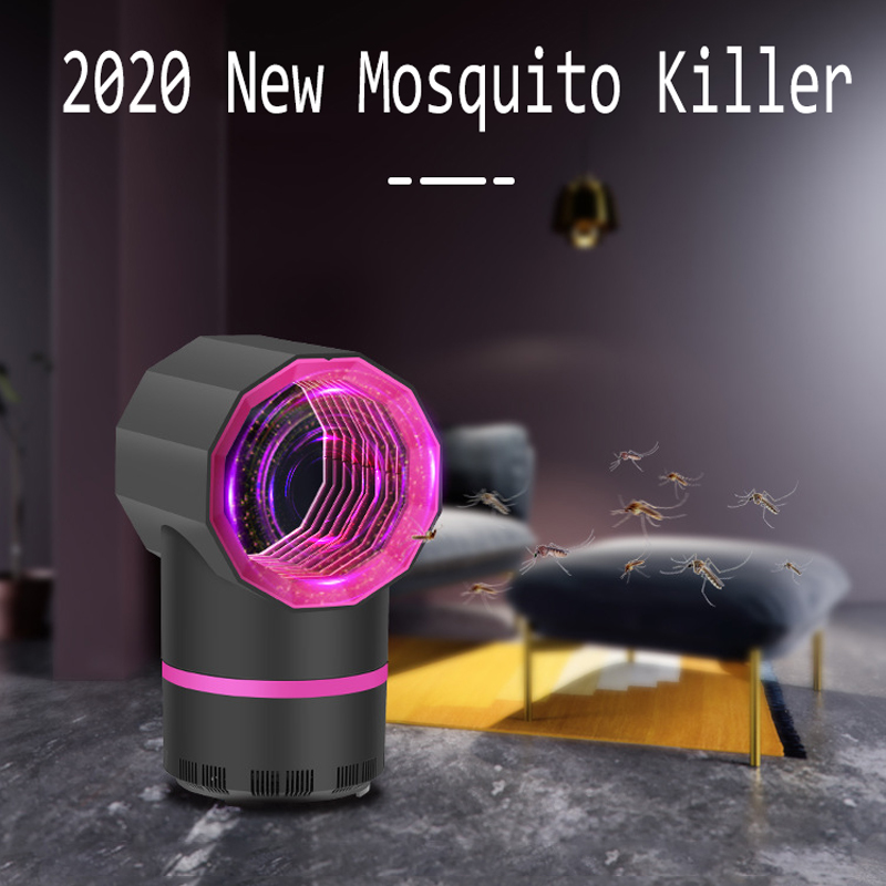 New Led Mosquito Killer Lamp UV Night Light USB Insect Killer Bug Zapper Mosquito Trap Lantern Repellent Lamp For Dropshipper