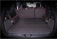Completo coberto não deslizamento nenhum odor esteiras tronco do carro especial para mercedes benzgl 320 x166 7 assentos à prova dwaterproof água tapetes de inicialização|boot carpet|non slip mat carnon slip car -