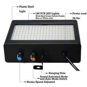 Image 5 - 180 Leds luz estroboscópica Flash portátil 35W Rgb Control remoto de sonido velocidad estroboscópica ajustable para escenario discoteca Bar Party Club (enchufe de la UE