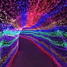 Guirlande lumineuse d'extérieur de 10M 20M 30M 50M 100M AC 220V/110V, décoration de fête, Patio, noël ou mariage