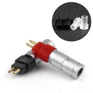 Image 5 - سماعات الأذن موصلات HD650 HD600 HD580 HD25 HD414 HD430 سماعة كابل النحاس مطلية بالذهب المقابس لتقوم بها بنفسك سماعة جاك Hifi الصوت