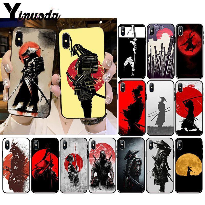 Yinuoda Japan The samurai Ninja Soft Silicone Phone Case for iPhone 11 11Pro X XS MAX XR 8 7 6 6S Plus 5 5S SE