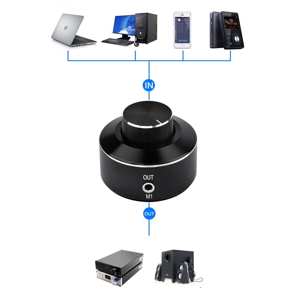 FX-Audio M1 аудио цифровой усилитель мощности усилитель активный динамик линейный регулятор громкости мини усилитель линейный контроль