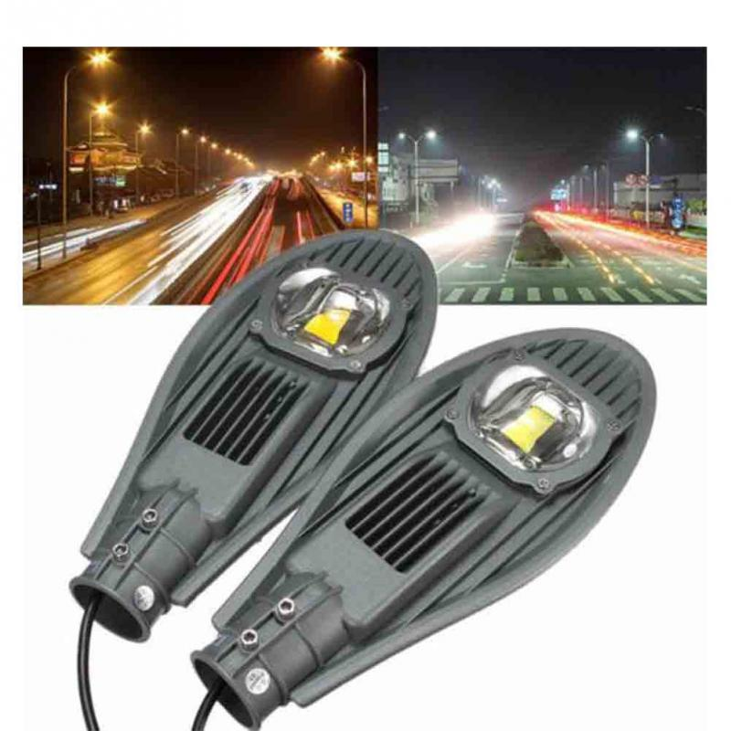 30W LED Road Street Flood Light 220V Outdoor Waterproof Solar Industrial Lamp Garden Yard Park Sport Court Road Lighting Lamp