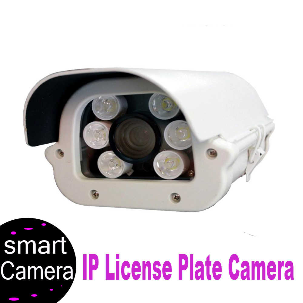 2.0MP 1080P Vechile License Plate Recognition LPR ANPR IPC 1080P ONVIF HD Tahan Air Outdoor 6-22mm Lensa untuk Tempat Parkir