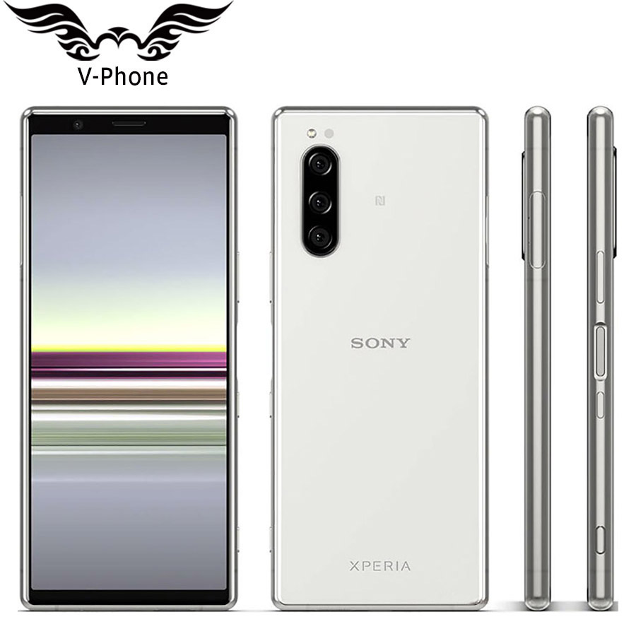Sony Xperia 5 J9210 Dual SIM Mobile Phone 6GB 128GB Snapdragon 855 Octa Core 6.1