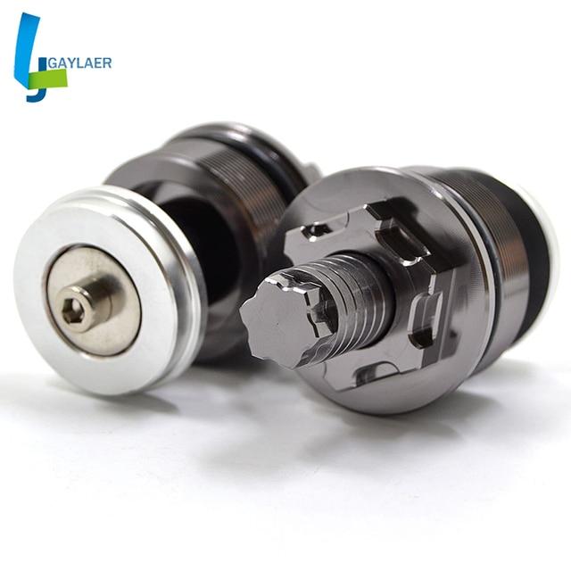 Motorcycle Aluminum CNC Preload Fork Cap Adjusters for Suzuki SV650 S GSF 400 600 650 Bandit GSX 400 Impulse