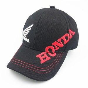 Унисекс Хлопок логотип автомобиля представление бейсбольная Кепка шляпа для honda крыло сторона английский