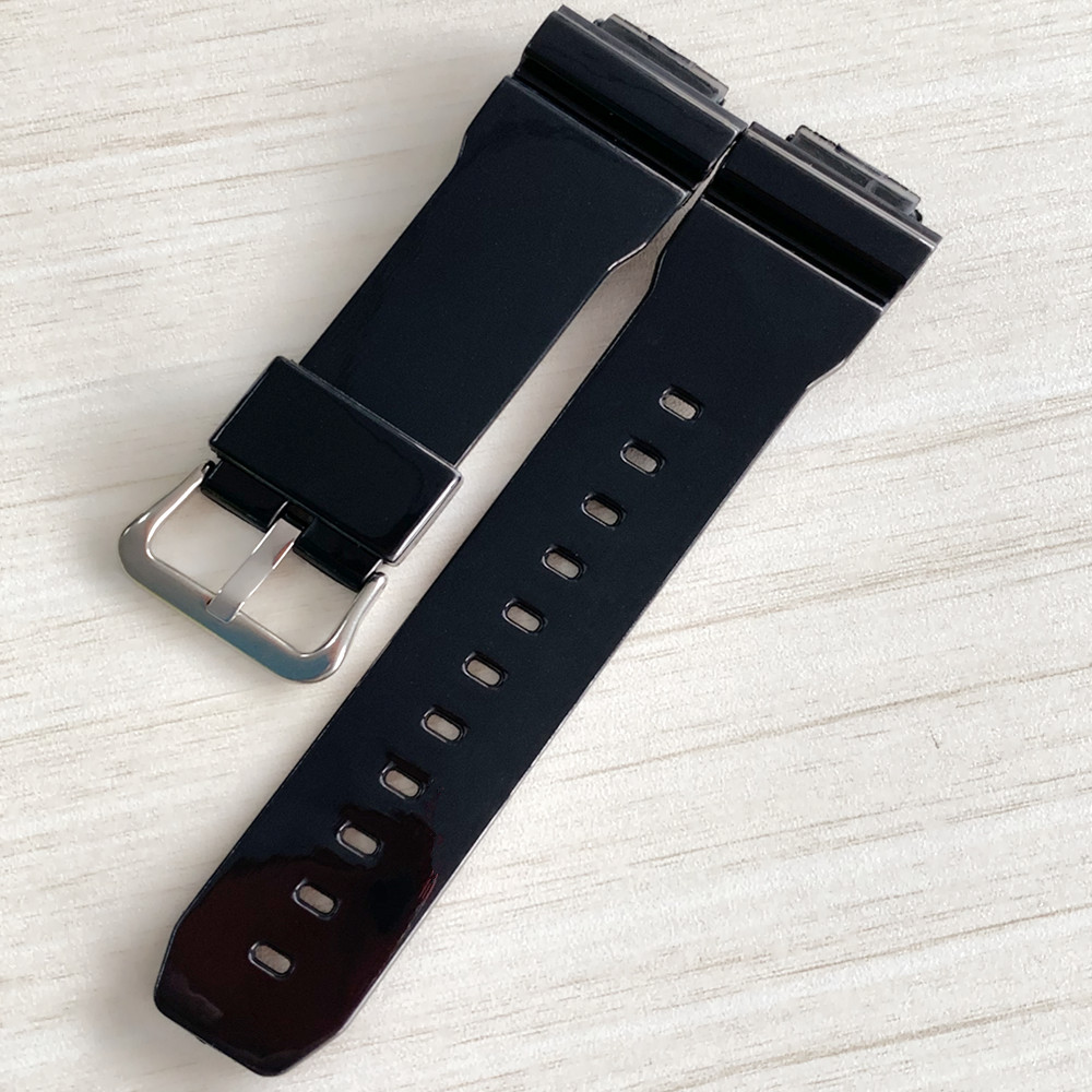 Bright Side Watchband for <font><b>G</b></font>-<font><b>shock</b></font> gma-s110, gma-s120, <font><b>DW</b></font>-<font><b>5600</b></font>, <font><b>DW</b></font>-6900,GW-M5610 Rubber Diving Sport Watch Strap Bands Watch Belt image