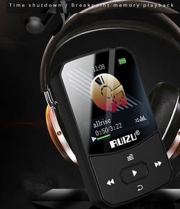 Image 3 - جديد وصول الأصلي RUIZU X52 الرياضة بلوتوث مشغل MP3 8 جيجابايت كليب صغير مع حامل شاشة FM ، تسجيل ، الكتاب الإلكتروني ، على مدار الساعة ، عداد الخطى