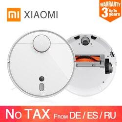 Оригинальный робот-пылесос Xiaomi Mijia Mi 1S 2 для дома, автоматический циклонный пылесос с функцией сухой и стерилизации, Wi-Fi, умное планирование, ...