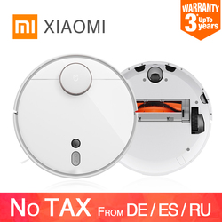 Original xiaomi mijia mi robô aspirador de pó 1s 2 para casa varredura automática poeira esterilizar ciclone sucção wi fi inteligente planejado rc