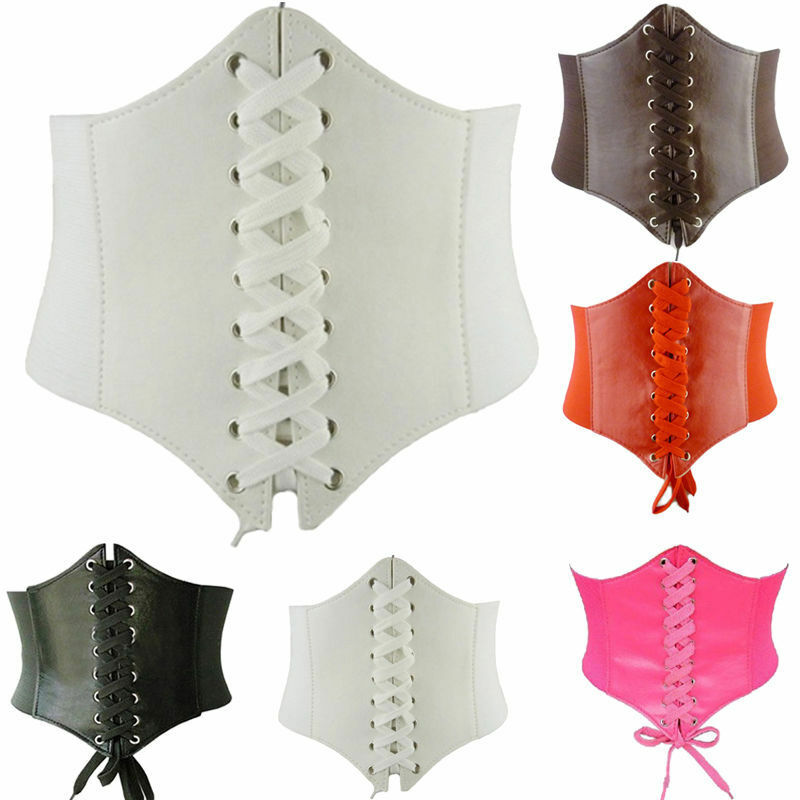 2019 Fashion Trend Women Body Shaper Buckle Wide Waistband Waist Belt Underbust Corset Belt New Accessories Body Building