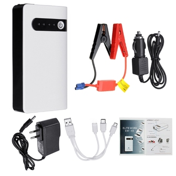 20000mAh 12V Portable Car Jump Starter Emergency Battery Booster Power bank Waterproof with LED Flashlight ootdty 38000mah 12v 1a car portable jump starter emergency power supply power bank 600a