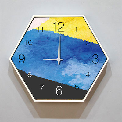 Nordic Art Wall Clock Large Creative Silent Personality Living Room Wall Watch Simple Zegar Scienny Drewniany Home Decor MM60WC