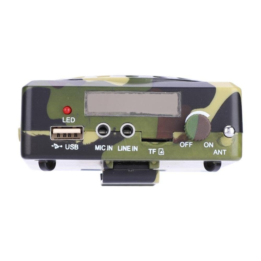 mp3 player armadilha de pássaro eletrônico caça