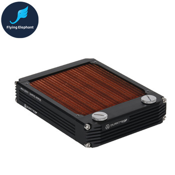 New Arrival Full Copper Water Cooling Radiator 120 240 360 Red Fin Copper Water-Board Cold Row